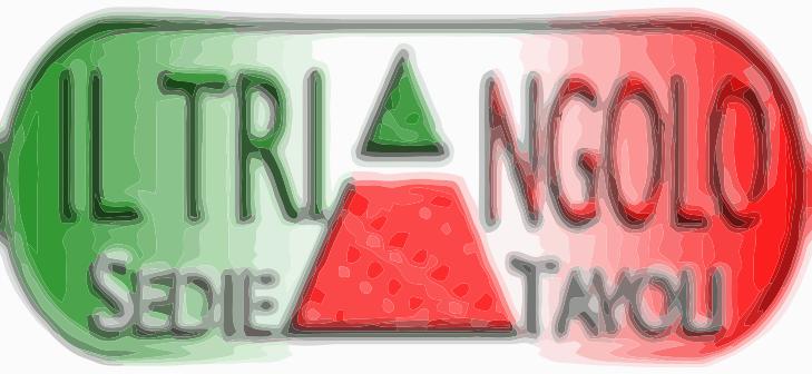Il triangolo sedie e tavoli
