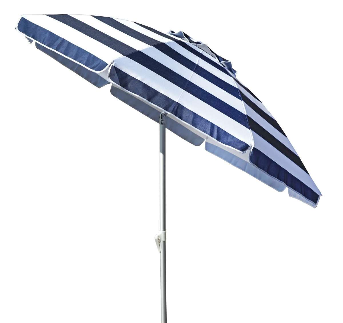 Ombrellone Lerici 200-8 rigato blu