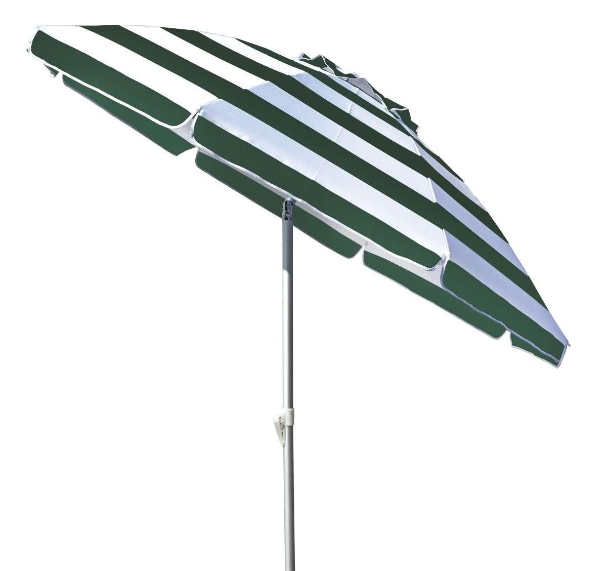 Ombrellone Lerici 200-8 rigato verde