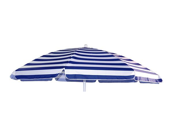 Ombrellone Stripe 200-8 bianco-blu