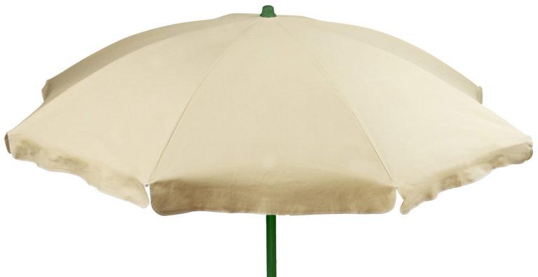 Ombrellone cotone ecru' 240-10 2