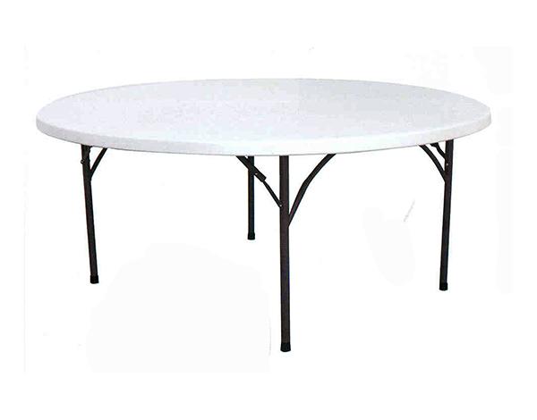 Tavolo catering fisso diametro 180 cm