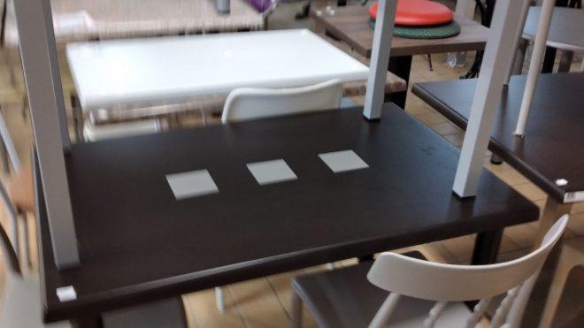 Tavoli in Werzalit per interno ed esterno